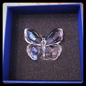 Beautiful Swarovski butterfly crystal. Brand new
